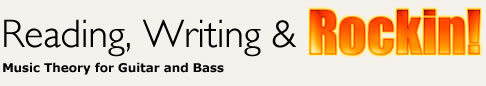 Reading, Writing and Rockin: Music Theory for Guitar and Bass