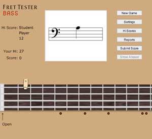 Fret Tester Bass