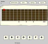 Guitar Flash Card Game